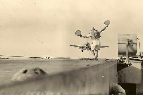 Warbird picture - 'Bats' bringing on a Firefly