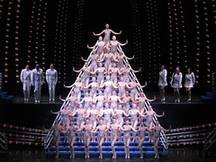 Rockette's Pyramid (The Jaundiced Eye) Tags: christmas nyc spectacular square manhattan broadway times radiocity rockettes