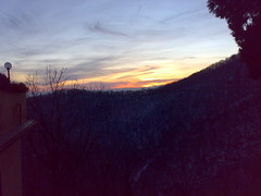 sunset @ Sacro Monte