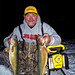 Jim O'Brien with a pair of nice walleyes