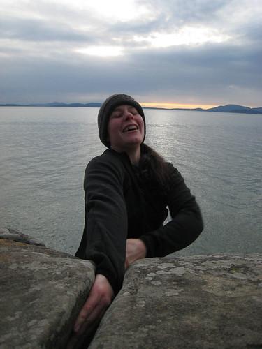 Climbing January 2009
