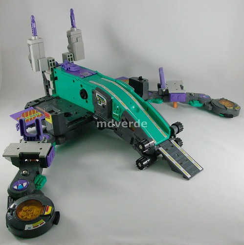 Transformers Trypticon G1 - modo alterno (by mdverde)
