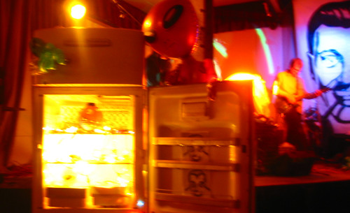 20081115 - SubGenius Devival in Baltimore - 171-7102 - refrigerator podium - please click through to leave a comment on FlickR