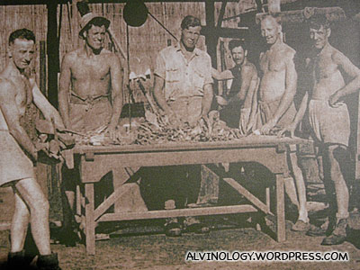 WW2 POWs sent to work at the mines