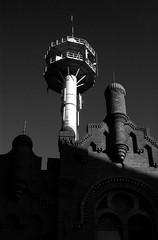 Contrast (Ugo F. Turcio) Tags: sky tower geotagged torre zwartwit toren nederland thenetherlands synagogue synagoge cielo lucht tilburg furball olanda biancoenero sinagoga blackandwithe justpentax pentaxiani geo:lat=5155905 geo:lon=5086659
