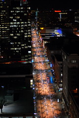 16th Street Mall from the clock tower (gwendolyn true) Tags: denver dfclocktower historicdenverevent