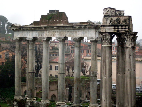 Temple of Saturn at the Roman Forum, 500 BC