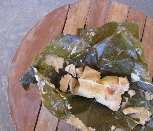 Nacatamal Served