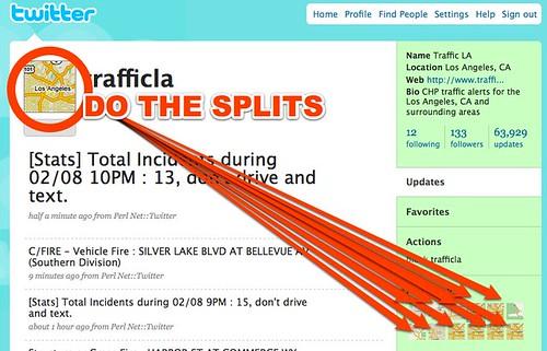 Twitter / trafficla