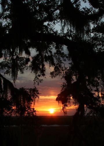 Sunset - Cumberland River, GA