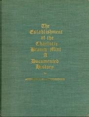 Stautzenberger, Charlotte Branch Mint,