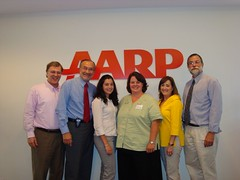 AARP meeting June 2008