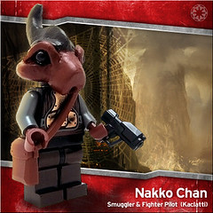 Nakko Chan (Morgan190) Tags: starwars republic lego scifi minifig custom clonewars goodguys brickarms fineclonier morgan19 clonewarscombatant