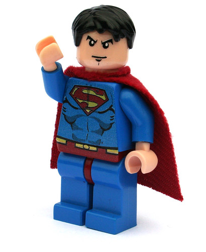 Superman custom minifig
