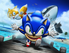 Sonic Adventure by Jeremy M