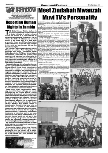 THE RAINBOW NEWSPAPER - PAGE 13