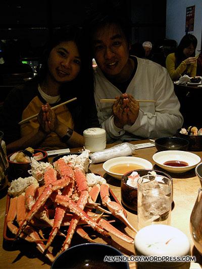 Crabs galore!