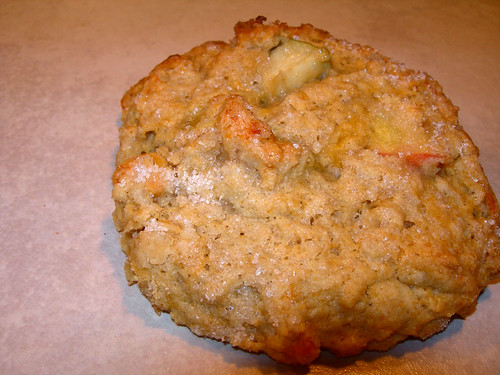 Apple Cheddar Oat Scones