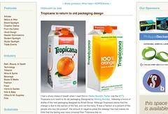 Tropicana to return to old packaging design_1235667911775