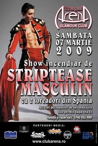 7 Martie 2009 » Striptease masculin