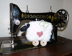 sheep pincushion