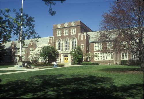 Bronxville High School Bronxville NY by Thomas V O'connell