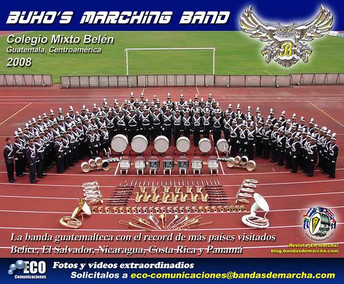Buhos Marching Band Guatemala 2008