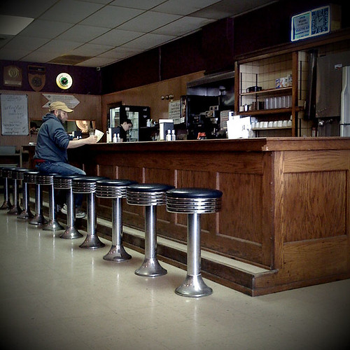 North Side Cafe, 61 W Jefferson Street, Winterset, Iowa, 50273 by Terrorkitten