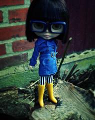 Doris, custom Ebony Blythe