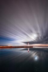 K20D0176 (Bob West) Tags: longexposure nightphotography moon ontario clouds lakeerie greatlakes moonlight nightshots startrails sigma1020mm erieau southwestontario bobwest k20d eastlighthouseerieau