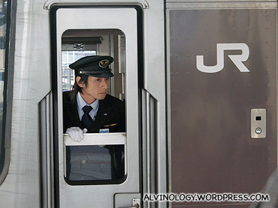 A train driver