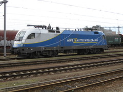 Taurus MWB at Venlo,the Netherlands (giedje2200loc) Tags: electric locomotive weser taurus bahn mittel mwb