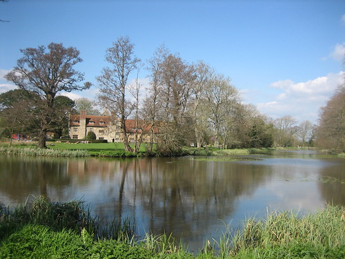 Michelham Priory Moat