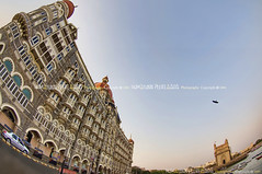 The Taj Mahal Palace & Gateway of India, Mumbai - India (Humayunn N A Peerzaada) Tags: india lens model photographer fisheye tokina actor maharashtra mumbai gatewayofindia humayun d90 tokinalens apollobunder peerzada tokinafisheye nikond90 humayunn peerzaada humayoon wwwhumayooncom humayunnapeerzaada tokinafisheyelens thetajmahalpalace nikond90clubasia humayunnnapeezaada 10to17mmf3545