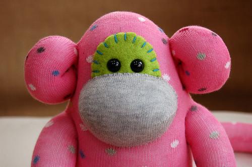 Sock Monkey - Celeste