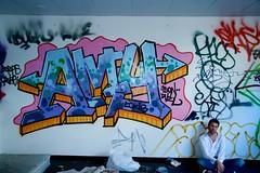 IMG_7023 (mtedwards30) Tags: portrait urban selfportrait building abandoned graffiti raw