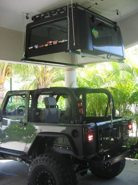 Jeep Roof Hoists Amp Thread 2 Door Hard Top Hoist