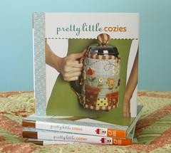 Pretty Little Cozies (PatchworkPottery) Tags: garden cozy quilt sewing patterns craft frenchpress books quilting patchwork lark patchworkpottery prettylittlecozies