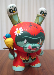 Kronk Tree Hugger Dunny AWOL Edition (Multiple Personalities) Tags: art vinyl collection figure 500 edition treehugger kronk limitedlimited treehuggerdunnyawoledition