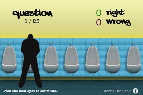Urinal Test App