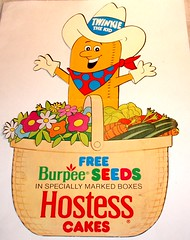 Twinkies Display for Burpee Seeds
