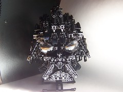 insert vader theme here (monsterbrick) Tags: star lego bust darth wars vader darthvader bionicle moc greeble