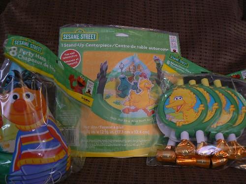 Sesame Street Sunny Days items