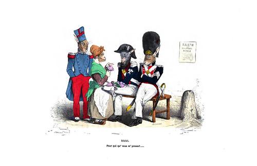 013-Les métamorphoses du jour (1869)-J.J Grandville