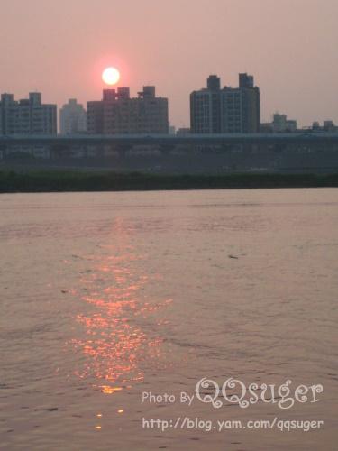 你拍攝的 大稻埕河濱3。