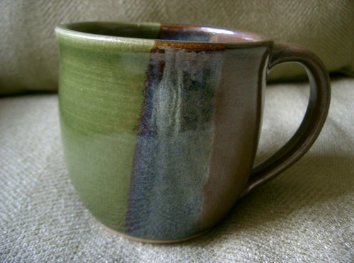 Brown Green Mug