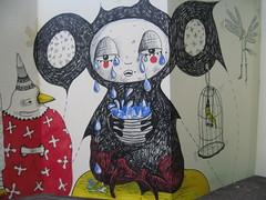 Moly x detail 3 (Quinn 68) Tags: pencil ink drawing quinn moleskin molyexchange