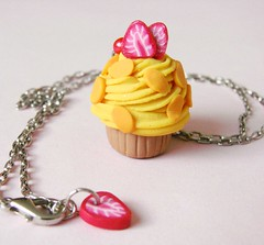 happy people mango mix :) (pokkuru.) Tags: miniature sweet chocolate cream cupcake fakefood polyclay polumerclay