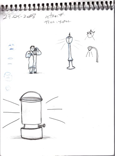 Mi memoria en dibujos 14 (F, Farol, Farol a gas)