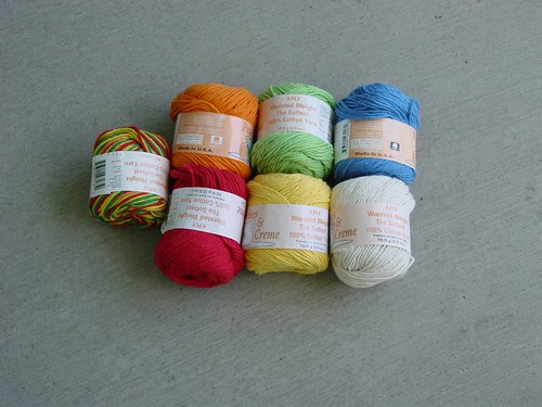 Potential Colors for Baby Blanket